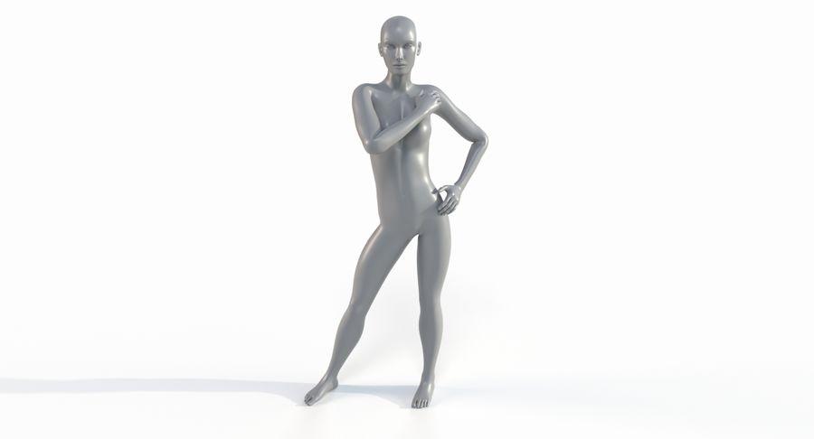 Female Base Mesh royalty-free 3d model - Preview no. 37