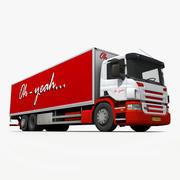 Transporter LKW 3d model