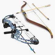 Bows 3D Modelsコレクション 3d model