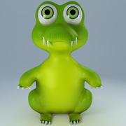 赤ちゃんワニ(おもちゃの外観) 3d model