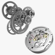 时钟机制集合 3d model