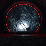 Konstig tunnelmiljö 3d model