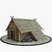 维京人棚(1) 3d model