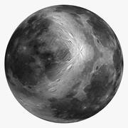 Månen 8k 3d model