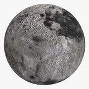 The Moon 8K 3d model