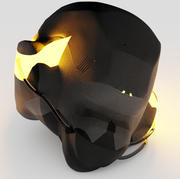 Future Helmet 3d model