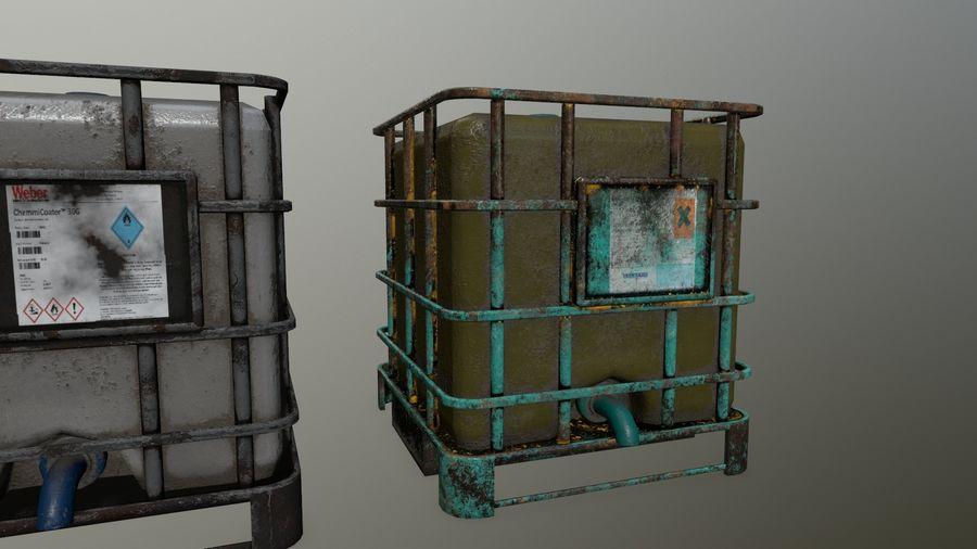 Zbiornik na wodę royalty-free 3d model - Preview no. 9