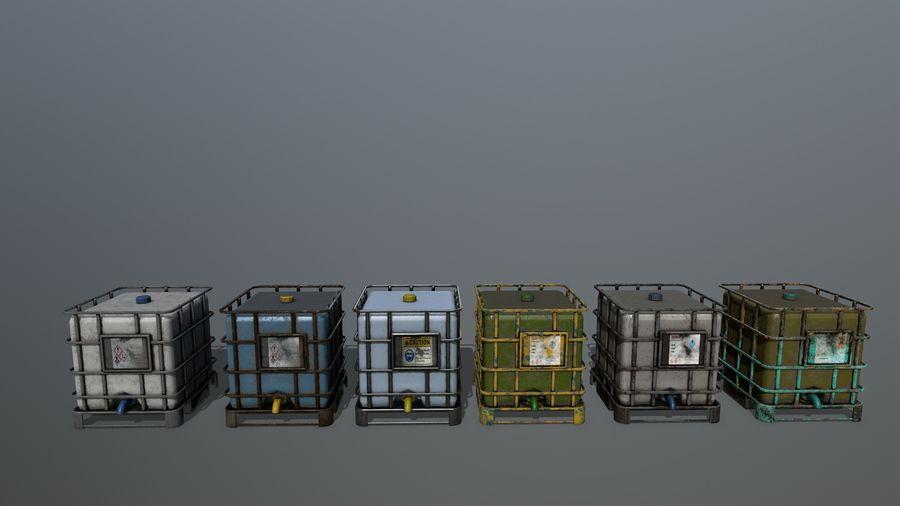 Zbiornik na wodę royalty-free 3d model - Preview no. 1
