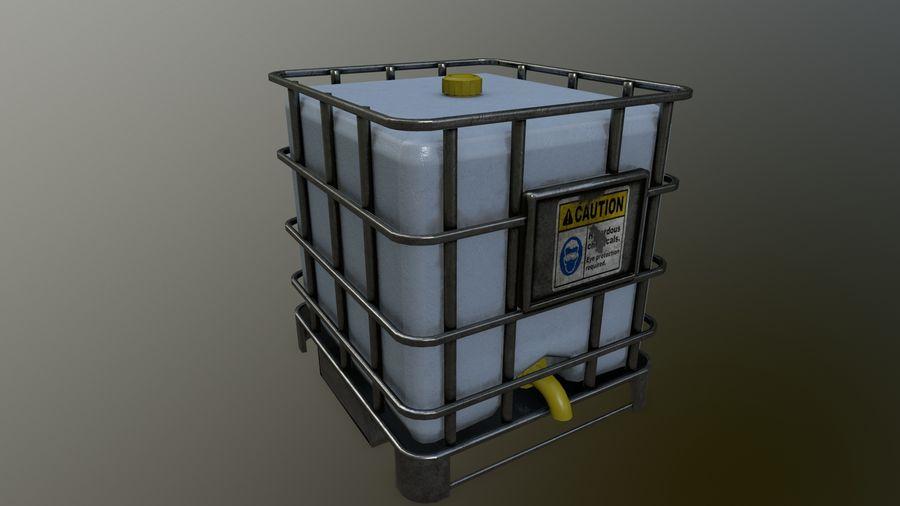 Zbiornik na wodę royalty-free 3d model - Preview no. 14