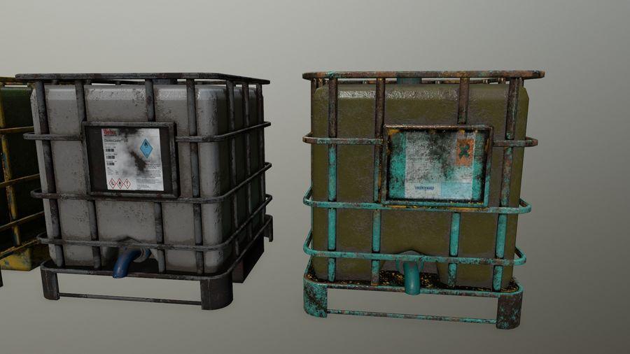 Zbiornik na wodę royalty-free 3d model - Preview no. 3