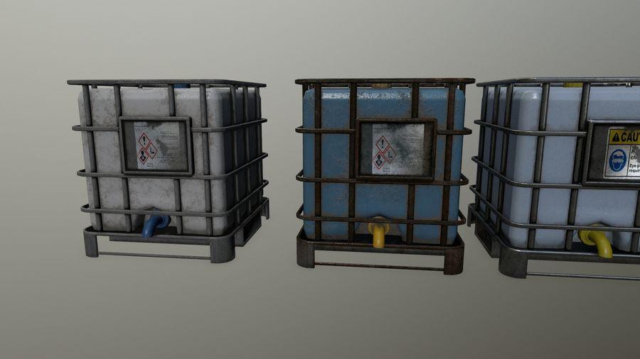 Zbiornik na wodę royalty-free 3d model - Preview no. 13