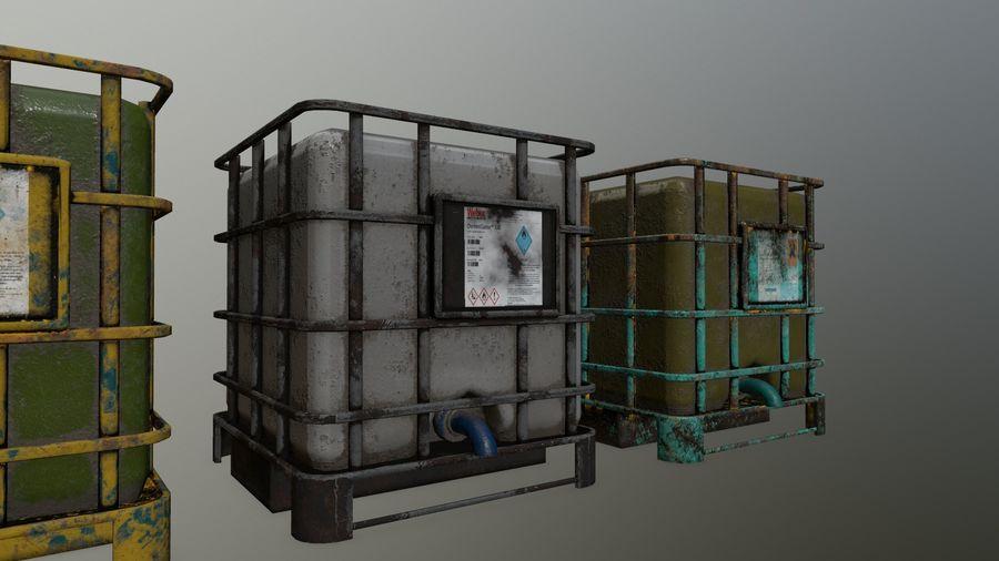 Zbiornik na wodę royalty-free 3d model - Preview no. 8
