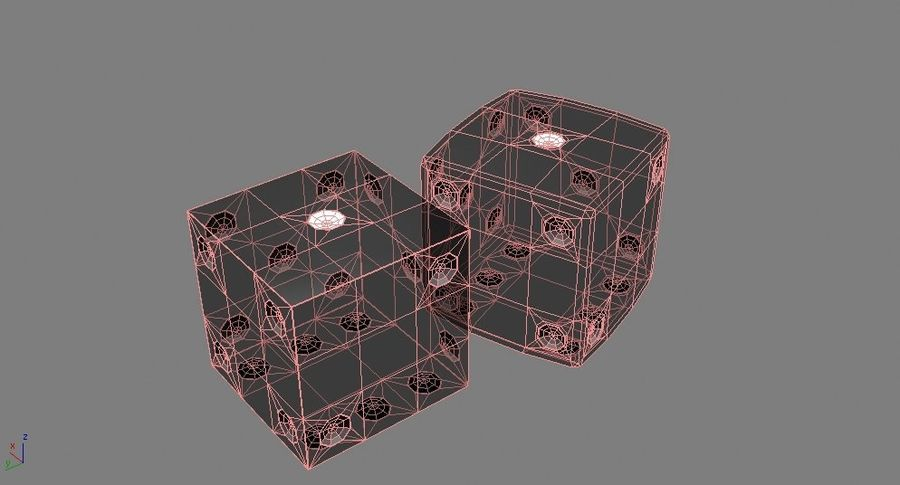 Dices royalty-free 3d model - Preview no. 7