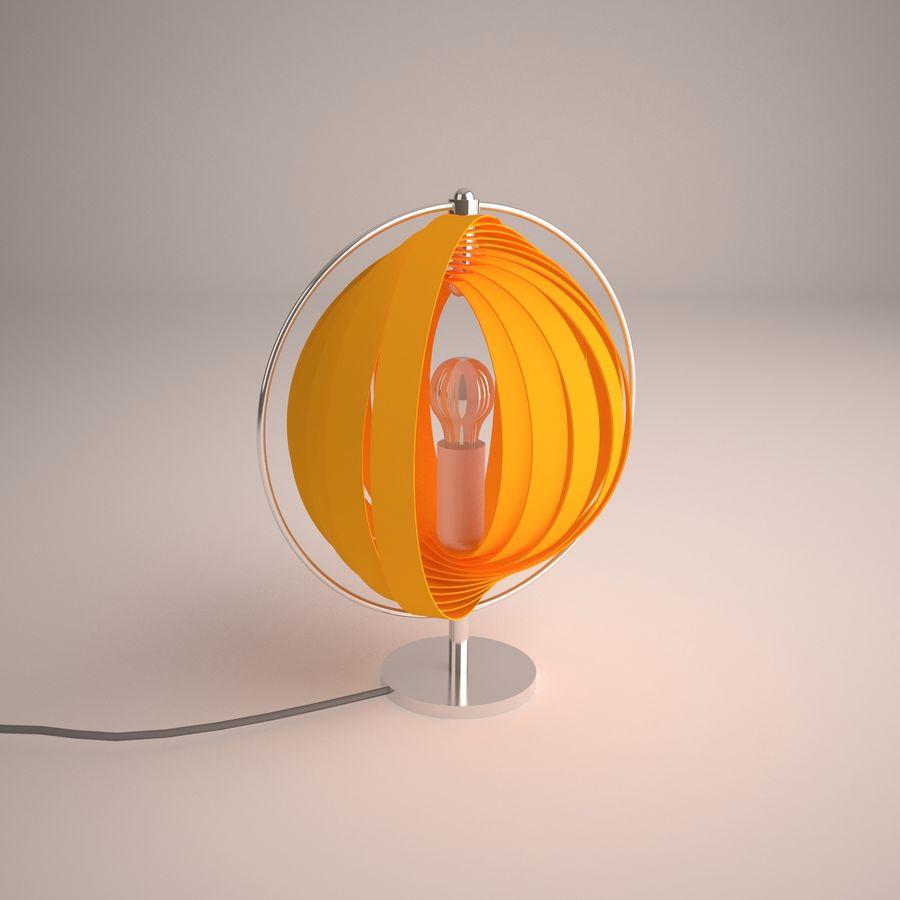 램프 머리맡의 태양 royalty-free 3d model - Preview no. 2