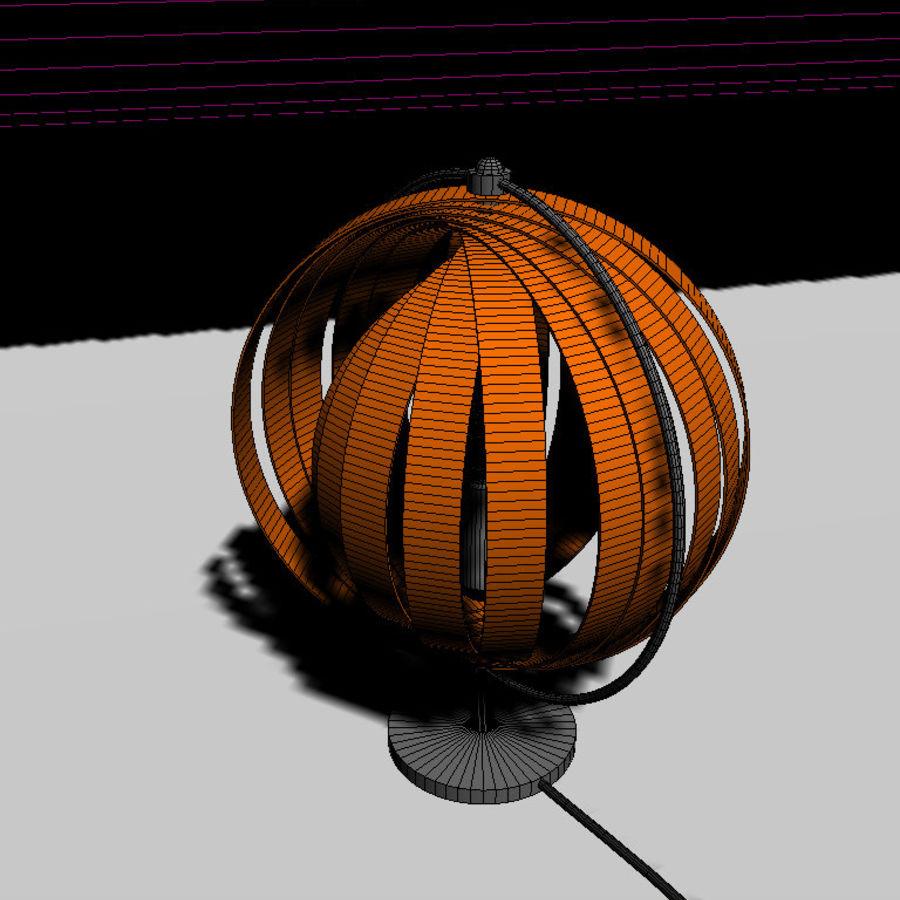 램프 머리맡의 태양 royalty-free 3d model - Preview no. 4