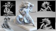 Dragon Bruce Lee 3d model