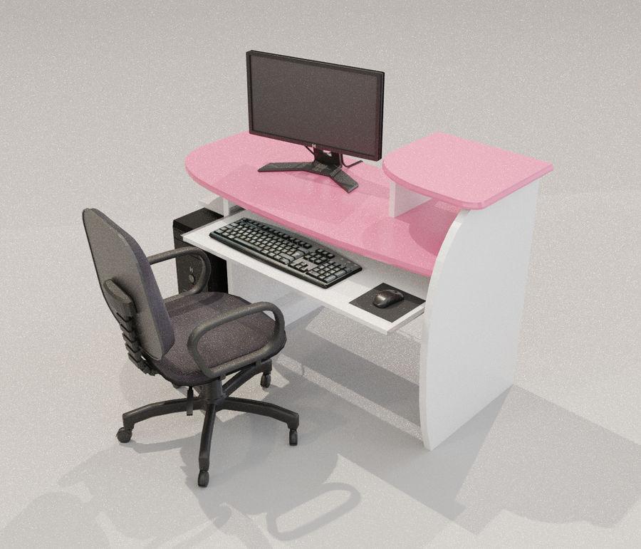 Desktop Computer royalty-free 3d model - Preview no. 2