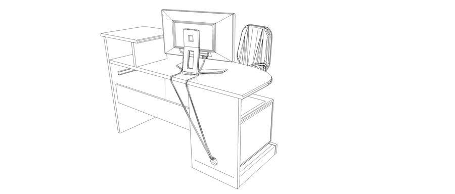 Desktop Computer royalty-free 3d model - Preview no. 9