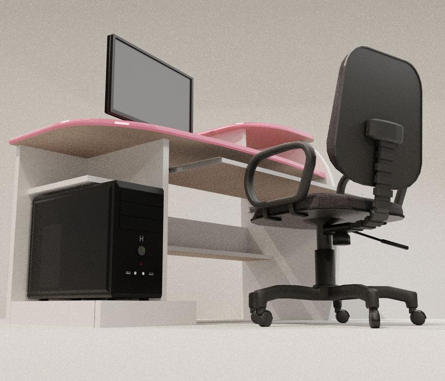 Desktop Computer royalty-free 3d model - Preview no. 5