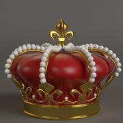 Koninklijke kroon 3d model