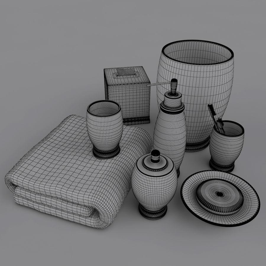 Banyo Aksesuarı royalty-free 3d model - Preview no. 6