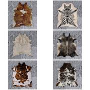 13 PBR Animal Skin Carpets 2 3d model