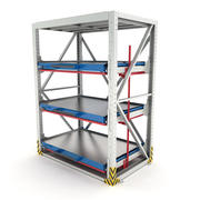 Heavy-duty rack 3d model