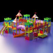 Parque de diversões infantil 3d model