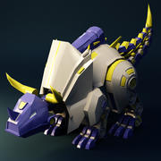 機械恐竜 3d model