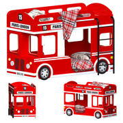 London Bus Bed 3d model