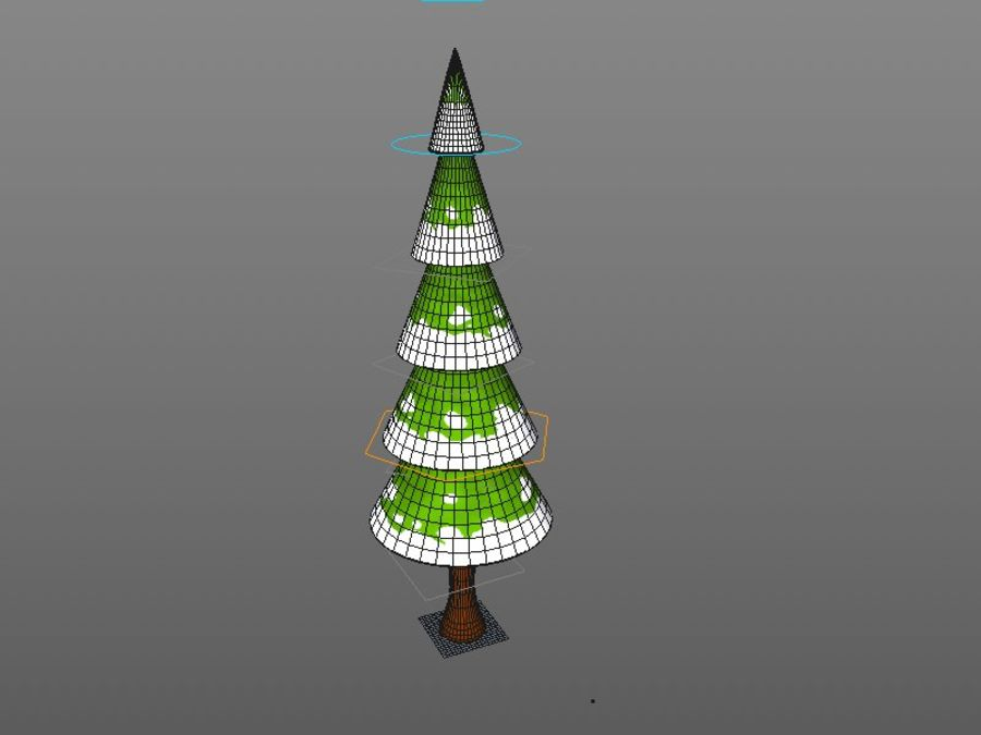 Tree Rig v1.0 Cinema 4d royalty-free 3d model - Preview no. 5