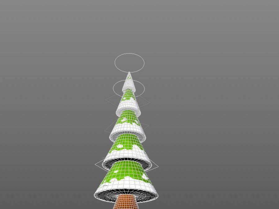 Tree Rig v1.0 Cinema 4d royalty-free 3d model - Preview no. 4
