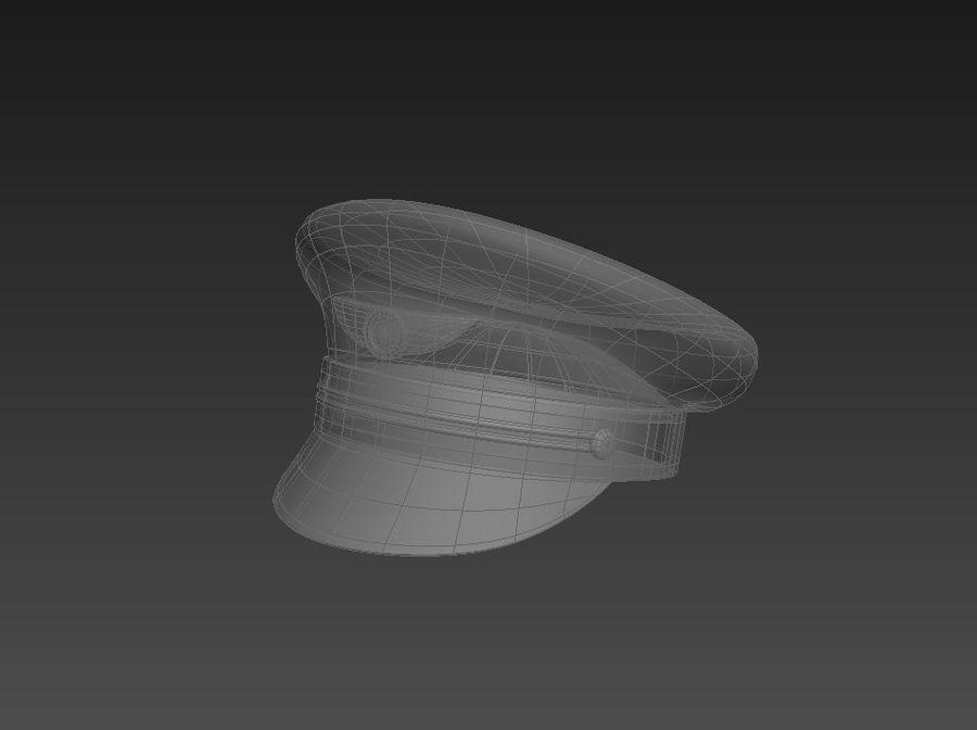 Pilot Hat royalty-free 3d model - Preview no. 11