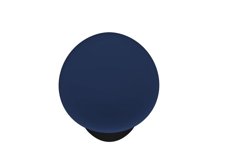 Pilot Hat royalty-free 3d model - Preview no. 7
