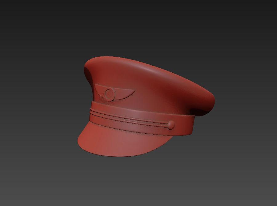Pilot Hat royalty-free 3d model - Preview no. 12