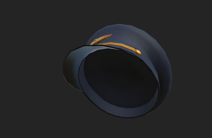 Pilot Hat royalty-free 3d model - Preview no. 18
