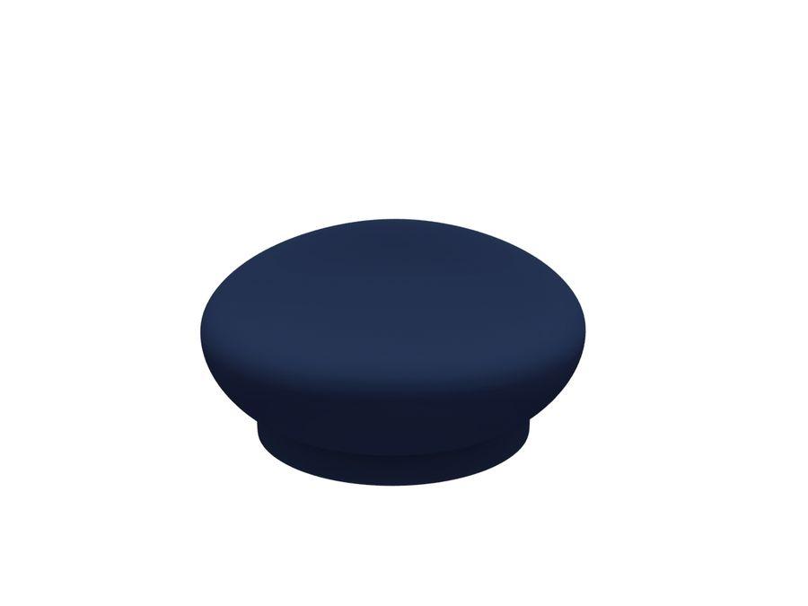 Pilot Hat royalty-free 3d model - Preview no. 6