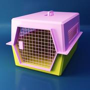 Klatka dla zwierząt 3d model