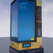 Distributeur automatique de boissons / collations / Automat 3d model