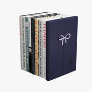 Libri Ralph Lauren 3d model