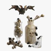 ハロウィーンの装飾 3d model