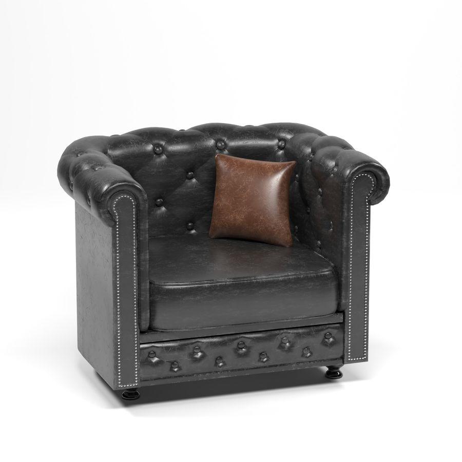 мебельный гарнитур royalty-free 3d model - Preview no. 3