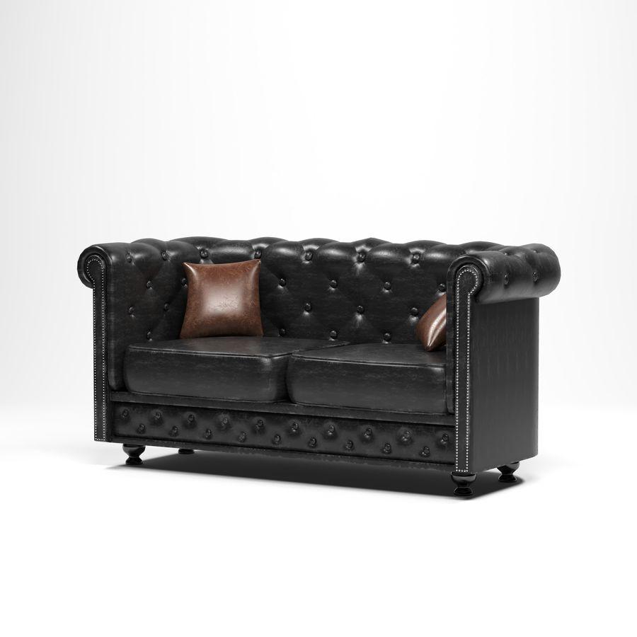 мебельный гарнитур royalty-free 3d model - Preview no. 4