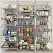Keuken kleinigheden set 4 3d model
