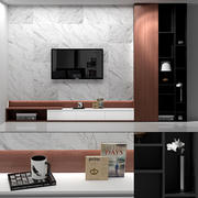 woonkamer tv kast 3d model