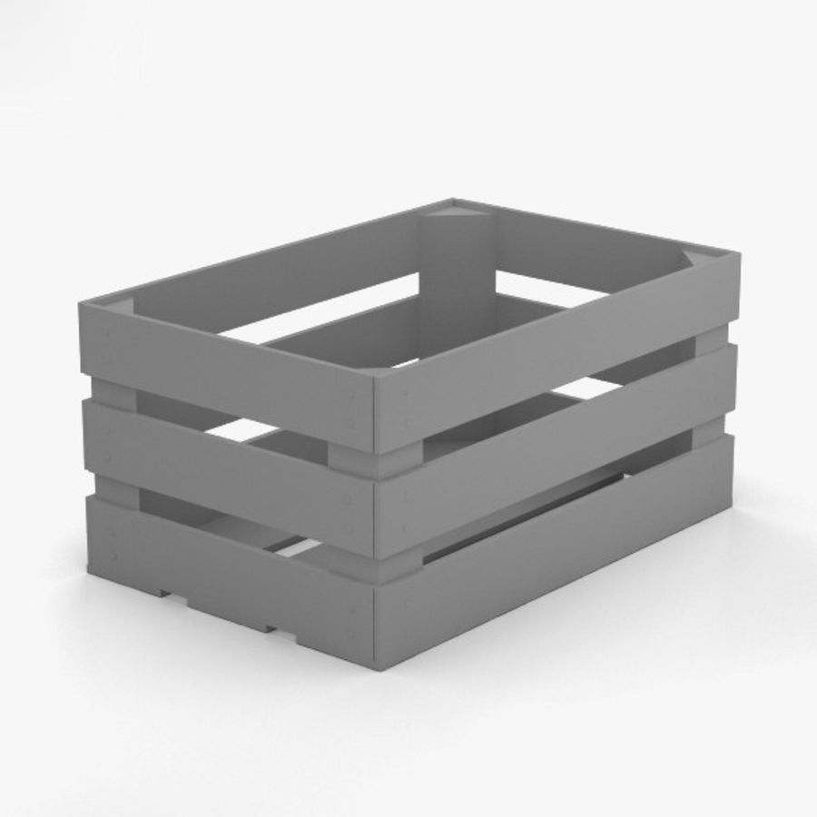 Fruit Crate royalty-free 3d model - Preview no. 11