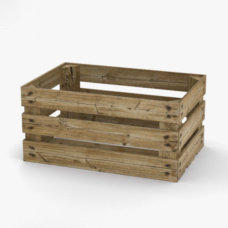 Fruit Crate royalty-free 3d model - Preview no. 2
