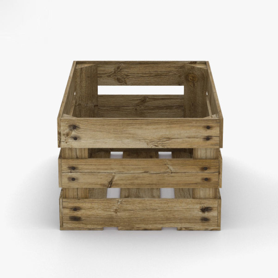 Fruit Crate royalty-free 3d model - Preview no. 6