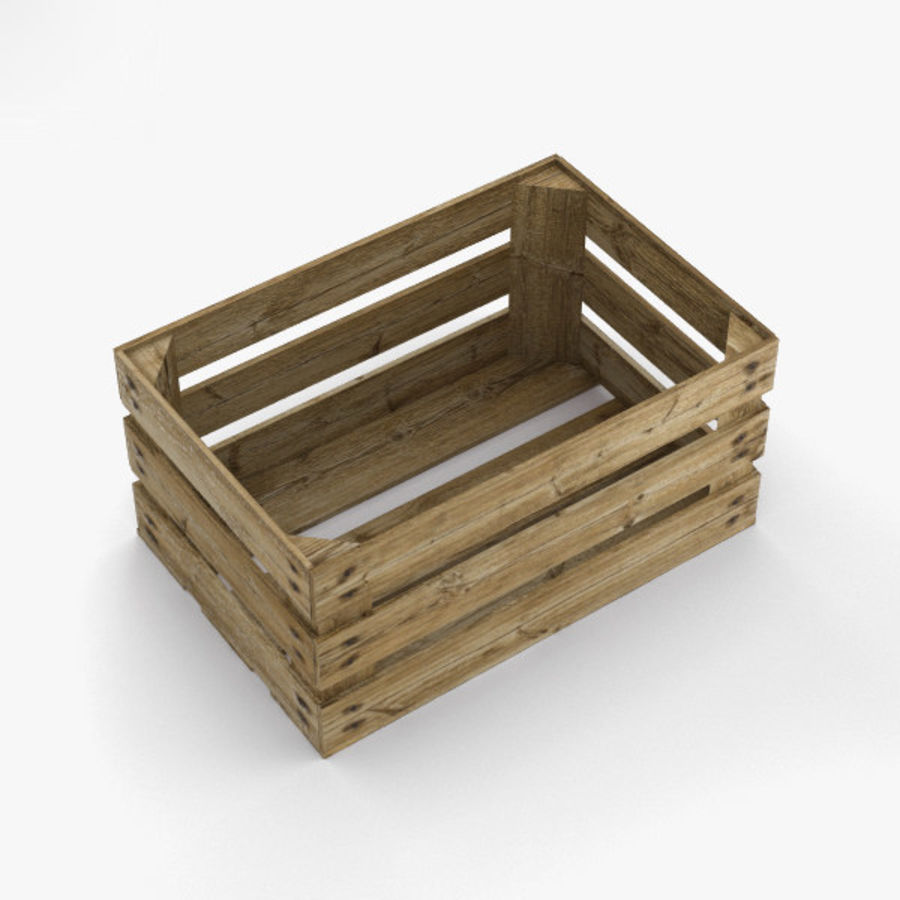 Fruit Crate royalty-free 3d model - Preview no. 7