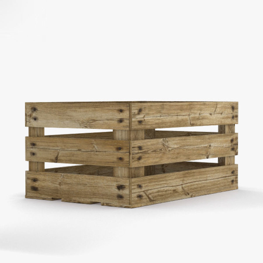 Fruit Crate royalty-free 3d model - Preview no. 8